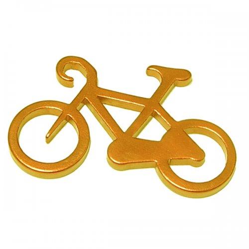 Customized Bicycle Shape Bottle Opener Keychains