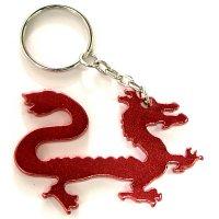 Customized Dragon Shape Bottle Opener Keychains