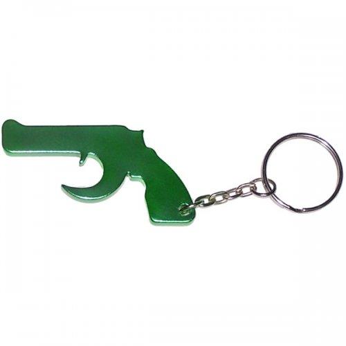 Customized Gun Shape Bottle Opener Keychains