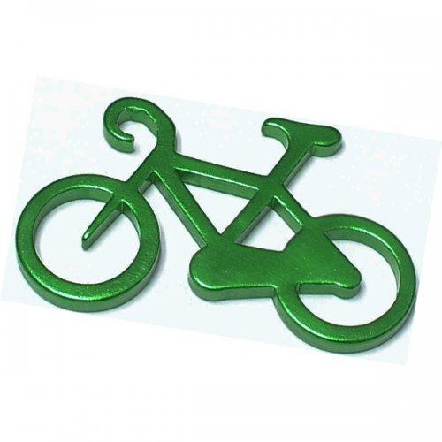 Custom Bicycle Shape Bottle Opener Carabiner with Key Holder