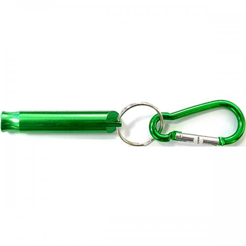 Customized Whistle With Carabiner Keychains