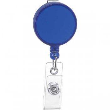 Round Badge Holder Keychains