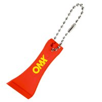 Customized Lottery Scratcher With Bead Keychains - Translucent Red
