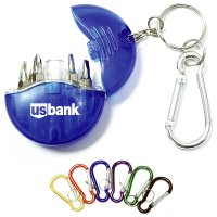 Customized Mini 4-in-1 Screwdriver Tool Set Keychains