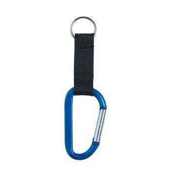 8mm Custom Carabiner Keychains - Blue