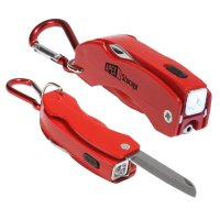 Personalized the Everything Tool Keychains  - Red